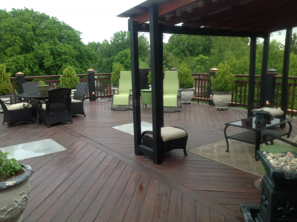 2525 George Rogers Clark, private rooftop deck